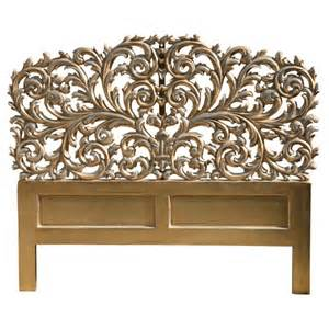 Rococo french carved headboard free delivery coco54
