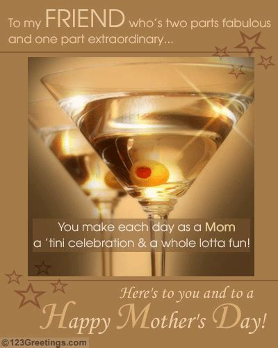 A Great Mom's Day! Free Friends eCards, Greeting Cards