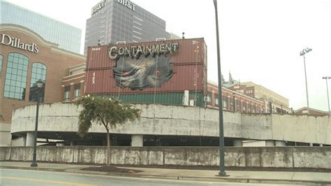containment haunted house atlantic station s demonic train containers apart of new halloween event gafollowers
