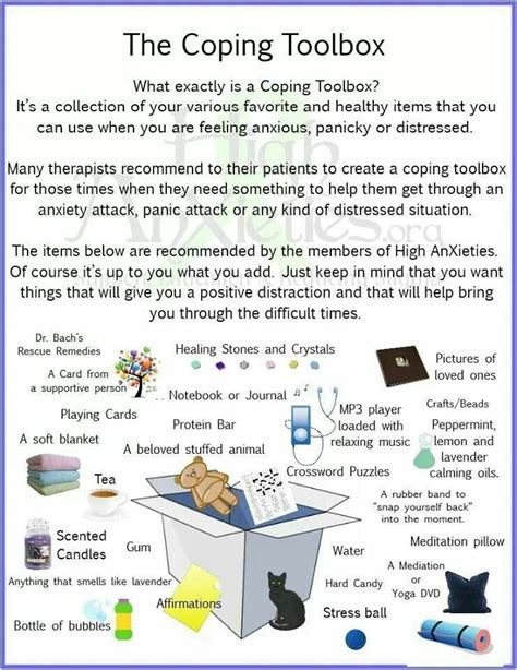 How Is Coping by Let S Make A Coping Skills Toolbox Coping Skills