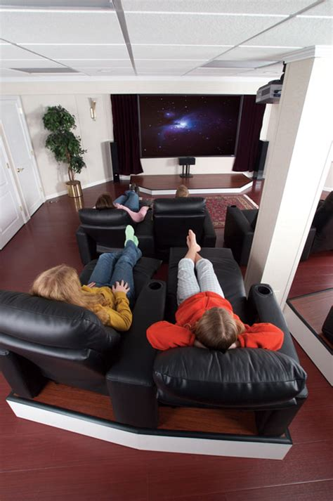basement photo friday basement theater basement theater ideas designing a basement home theater