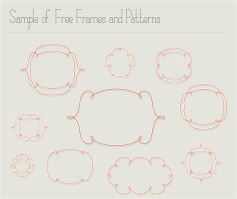free wedding fonts and borders 30 free ornaments frames borders vector resources