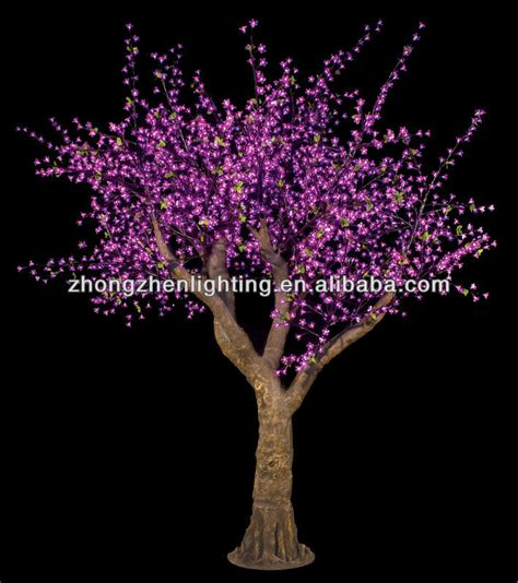 trees that light up light up cherry trees for outdoor decoration led cherry