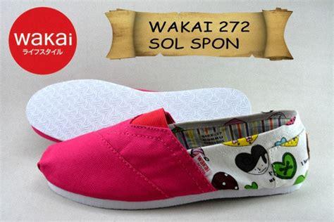 Sepatu Wakai 328 Sol Spon Grade Ori sepatu wakai cewek murah sol spon grade ori 272