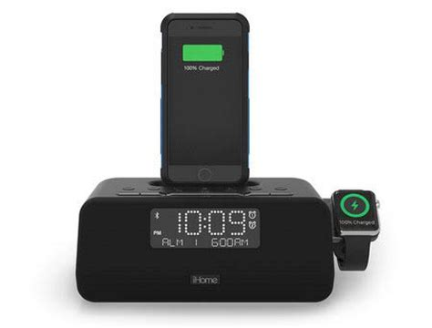 ihome launching clock radio that charge both an iphone and apple macrumors