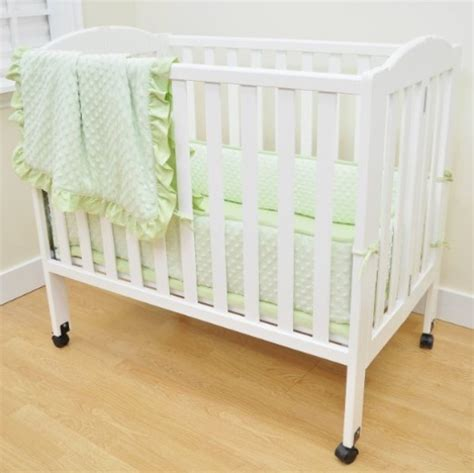 Used Mini Crib Mini Crib Bedding Sets For Home Design Tips And Guides