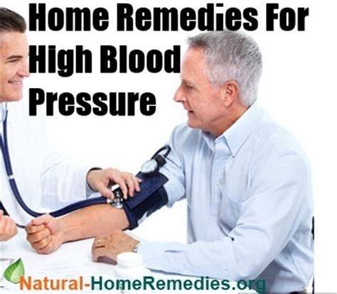 high blood pressure home remedies high blood pressure