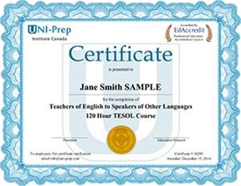 best tesol certification programs 120 hour tesol certificate accredited