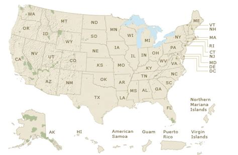 national map national map