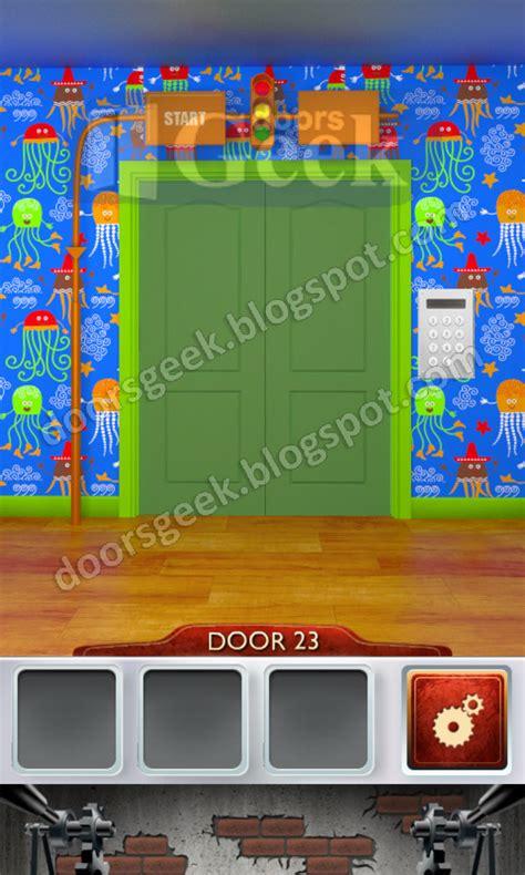 100 doors level 23 100 doors 2 level 23 doors geek