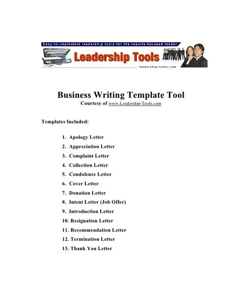 business letters slideshare business letter templates