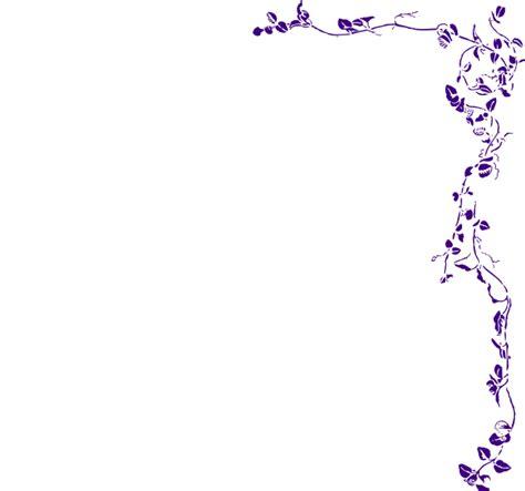 Bordir Purple vine border purple clip at clker vector clip royalty free domain