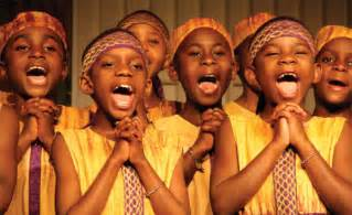 Singers com african children s choir mixed voice choral childrens