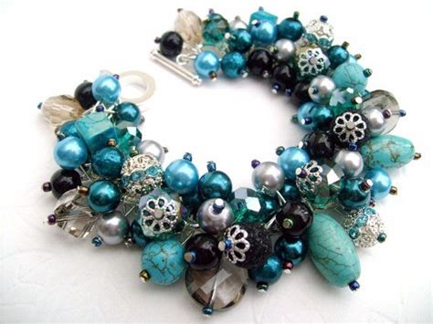 Steunk Vire Bracelet Turquoise Gelang 1000 images about jewelry cluster bracelets on turquoise bracelets and cha cha