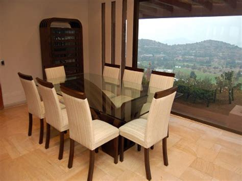 decoracion comedor mesa de vidrio modelos de mesas de comedor de vidrio casa dise 241 o