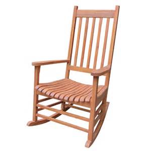 Patio Rockers by International Concepts Solid Wood Porch Rocker Hunter