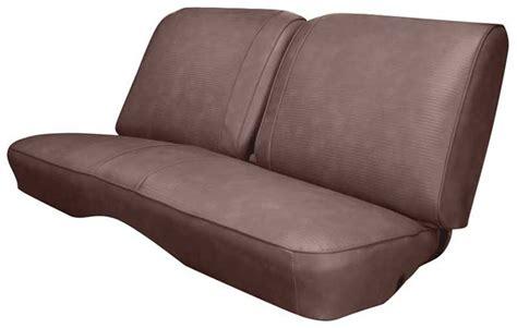 nova bench seat 1976 chevrolet nova parts interior soft goods seat