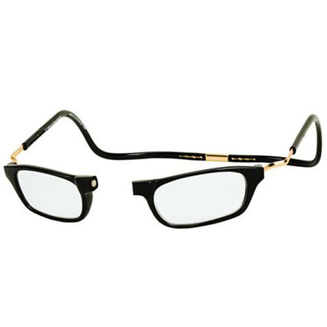 clic expandable reading glasses black walmart