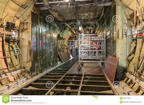 Open Cabin Floor Plans aircraft maintenance stock photo image 43217450