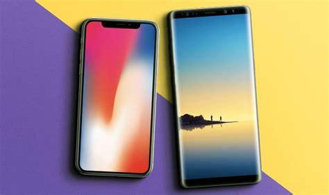iphone x vs galaxy note 8 qual o top de linha mais poderoso