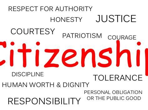 qualities of a citizen