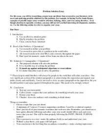 Problem And Solution Essay Sample A Problem Solution Essay Come With Resume Lasts Longer And