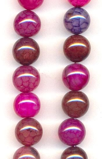 466 Dyed Agate Cutting 10mm 10mm crackle agate dyed jan s jewelry supplies