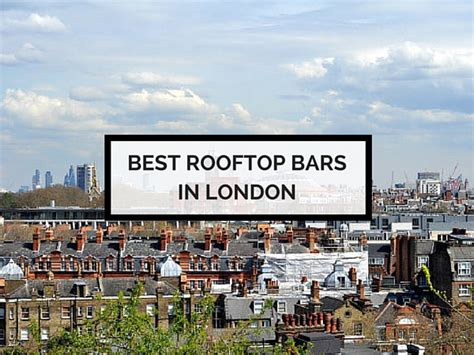 5 Of The Best Rooftop Bars In London By Elle Croft