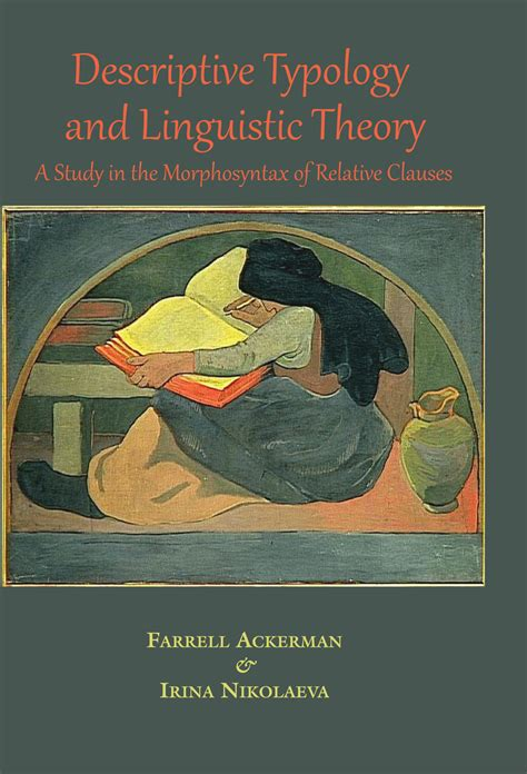 descriptive picture books descriptive typology and linguistic theory a study in the