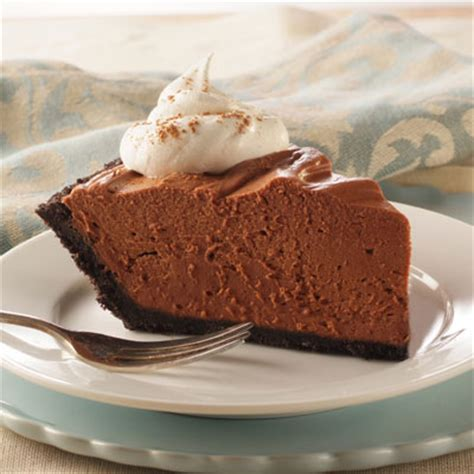 no bake chocolate cheesecake pie recipe meals com