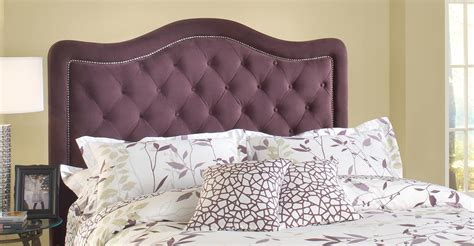 purple tufted headboard hillsdale trieste tufted upholstered headboard purple hd