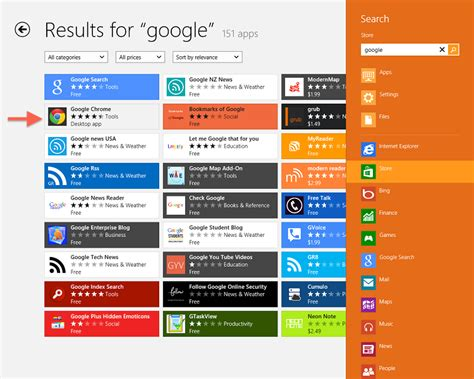 Windows 8: How to Download and Install Google Search and ...