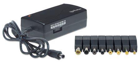 Universal Adaptor Notebook manhattan products universal notebook power adapter 100854