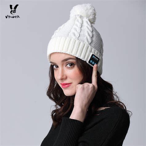 Handmade Beanies - vbiger hat wireless bluetooth headphone binaural