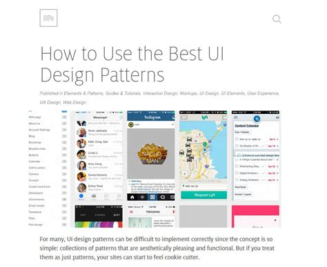 ui design pattern mobile pixels of the week march 6 2015 st 233 phanie walter