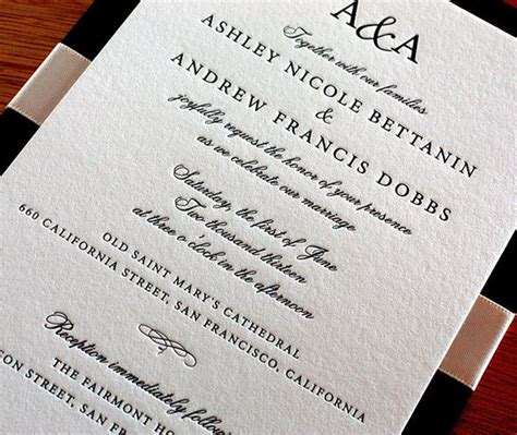 Wedding Invitations Formal by This Traditional Wedding Invitation Was Designed With A