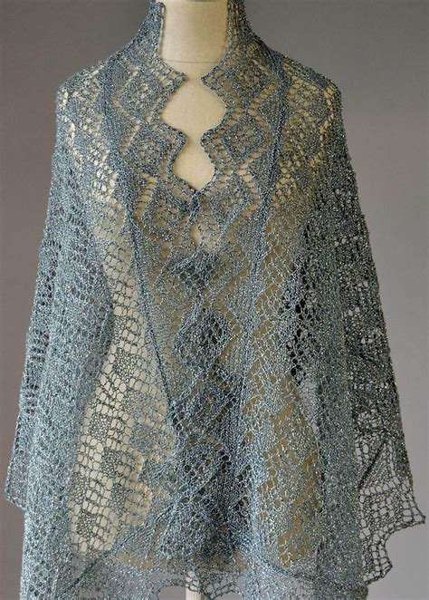 knit lace lace shawl and wrap knitting patterns in the loop knitting