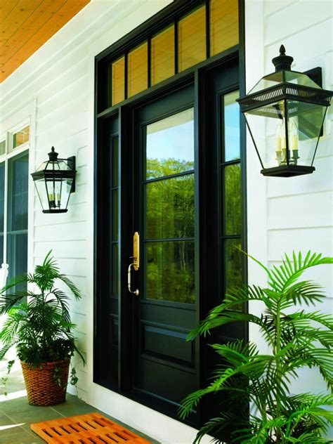 Andersen Front Doors Ways To Light Your Outdoor Entryway Hgtv