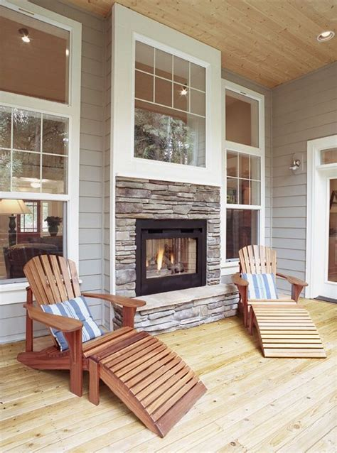 indoor outdoor fireplaces best 25 indoor outdoor fireplaces ideas on sided gas fireplace farmhouse