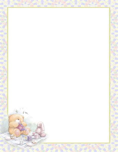 teddy writing paper free name tags free printable name badges stationary