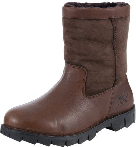 mens ugg beacon boots ugg ugg australia beacon mens boots in brown for lyst