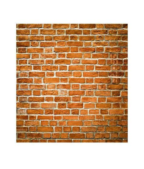 wallpaper for walls prices in india buy paw brown brick wall texture wallpaper panel online at