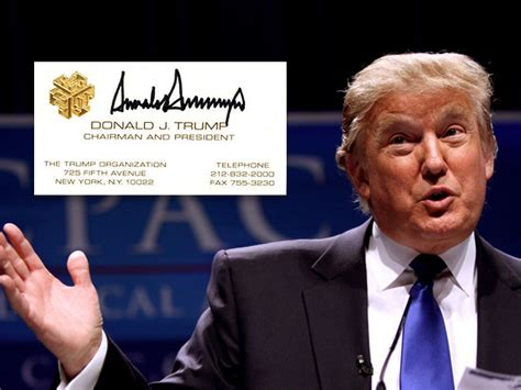 donald trump business business cards archives goprint
