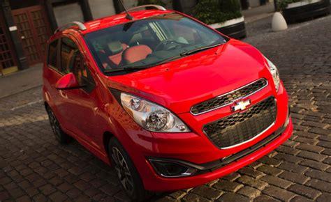 fuel consumption price  color spark interest  chevy