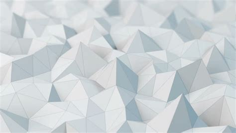 white low poly abstract background seamlessly loopable