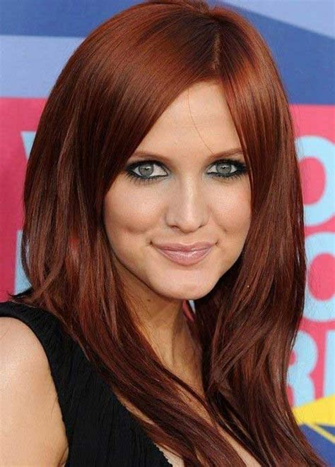 best red colors 25 best red hair color long hairstyles 2016 2017