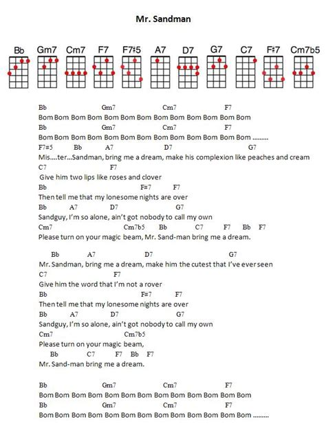 lyrics mr lyrics mr sandman hd 1080p 4k foto