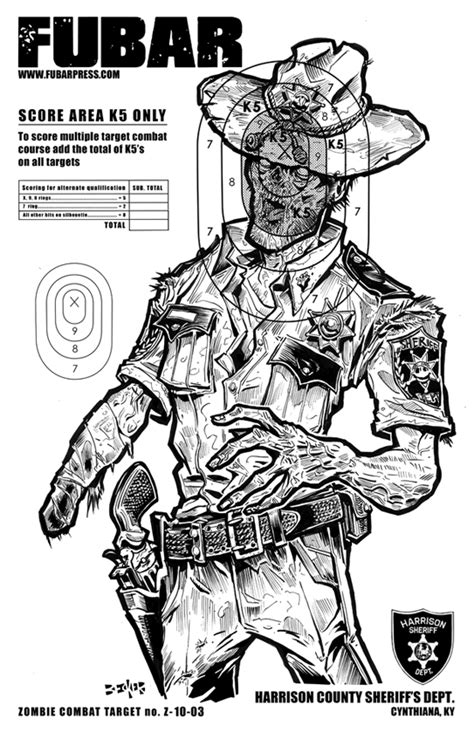 printable zombie animal targets target zombies places to visit pinterest target
