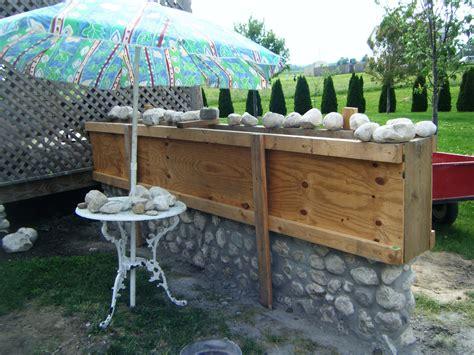 how to build a wall garden build a slip form garden wall part 3