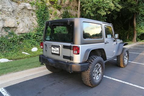 jeep rubicon silver 2 door the silver beast 2014 jeep wrangler rubicon sport utility